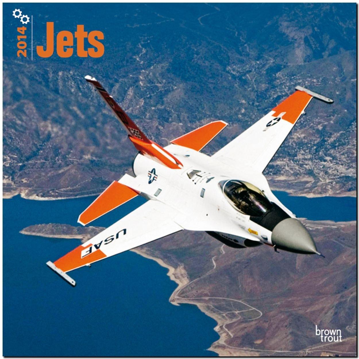 Jets 2014 - Düsenflugzeuge: Original BrownTrout-Kalender [Mehrsprachig] [Kalender]