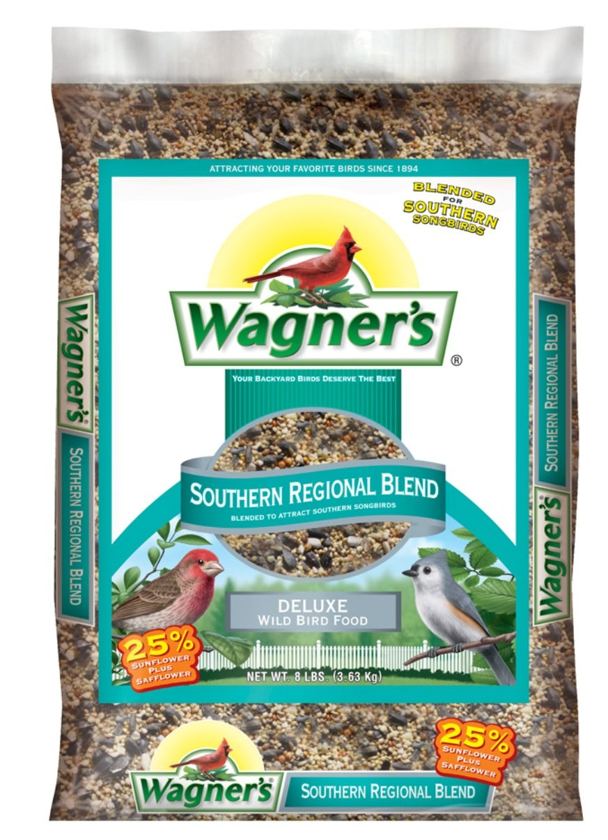 Wagner's 62012 Southern Regional Blend Wild Bird Food, 20-Pound Bag