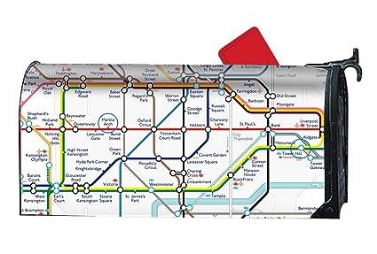 4c7674a19361 Amazon.com  Verna Christopher Simple Map of London Underground ...