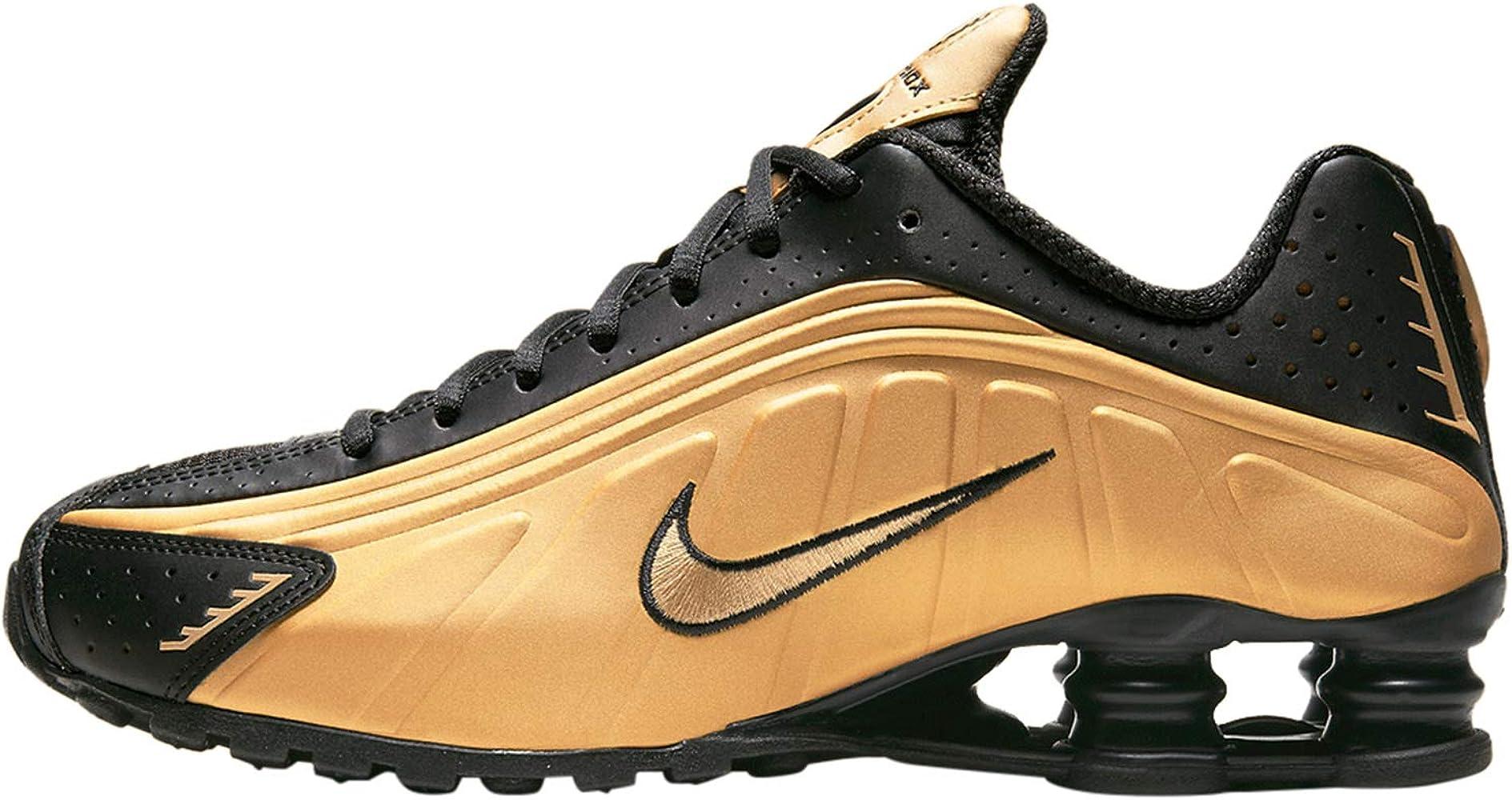 Nike Shox R4 Metallic Gold/Black