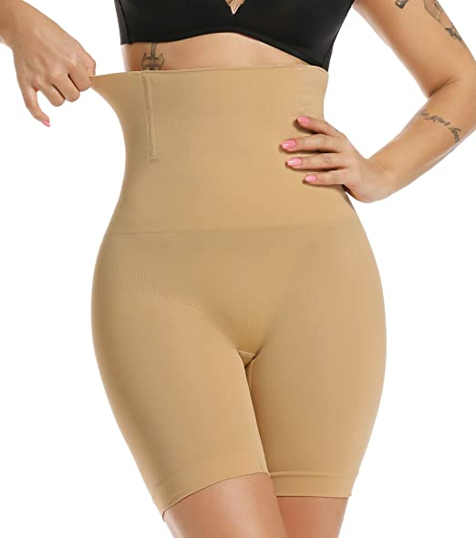 MISS MOLY Mujer Faja Pantalón Cintura Alta Invisible Shapewear ...