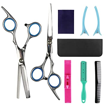 Amazon.com: Tijeras de peluquería Kits de acero inoxidable ...