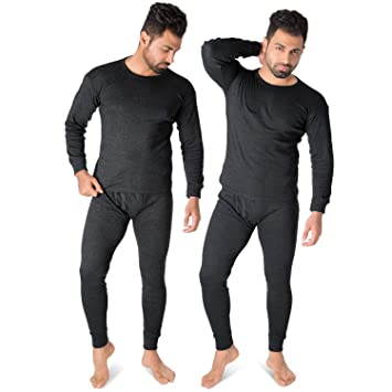 separation shoes a4935 6a857 Thermounterwäsche Herren Thermo Unterwäsche Lange Unterhose + Langarm  Unterhemd Blacksnake® 2er Pack
