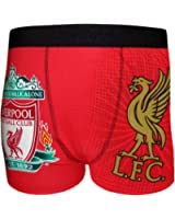 Liverpool FC Official Football Gift Mens Liver Socks & Boxer Shorts