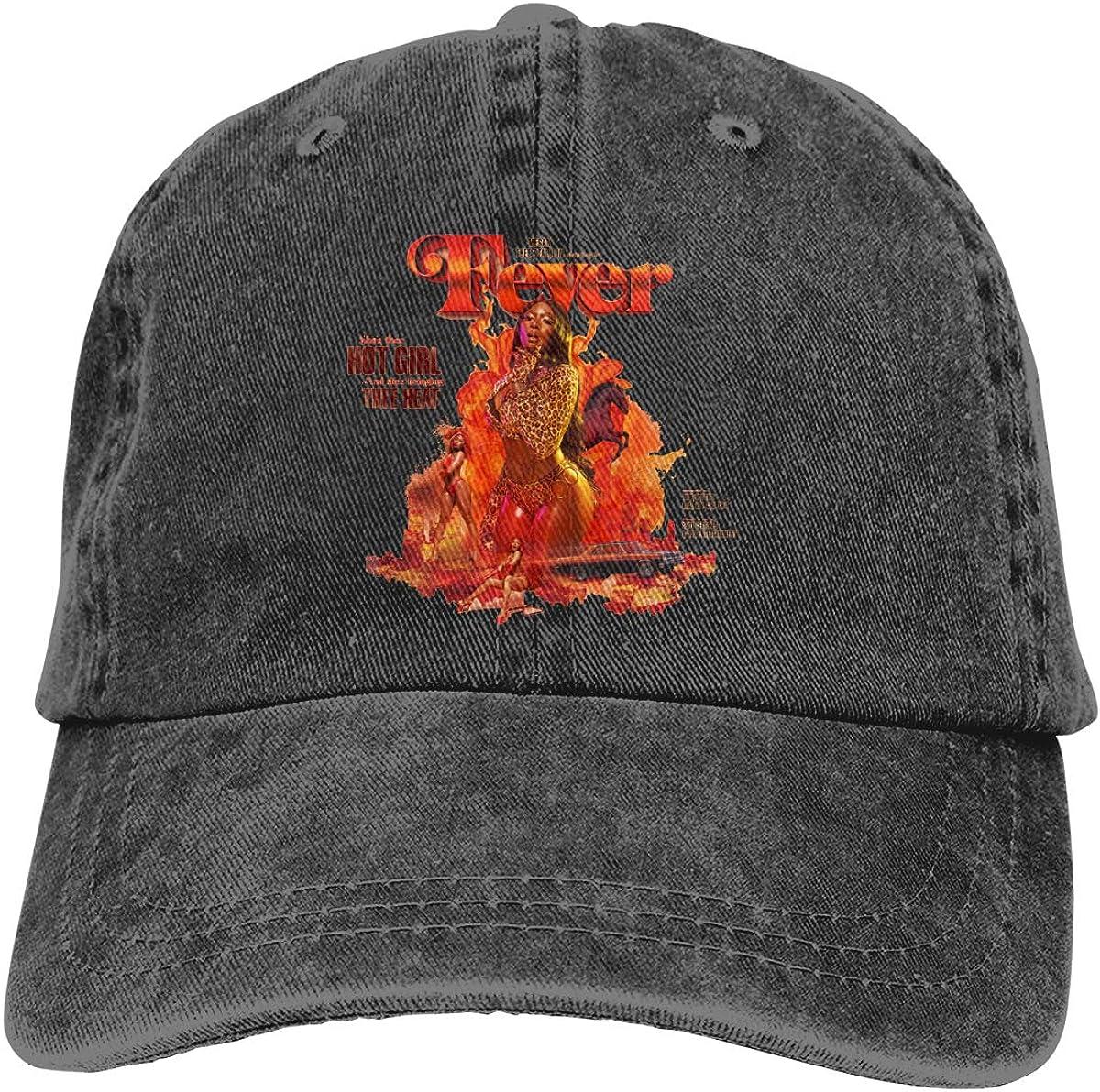 Men and Women 3D Printed Wild Megan Thee Stallion Cowboy Hat Black