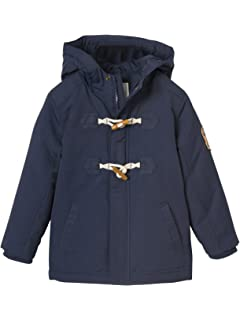 54e59377cc64b Vertbaudet Boys' 3-in-1 Parka with Polar Fleece Lining Blue Dark ...