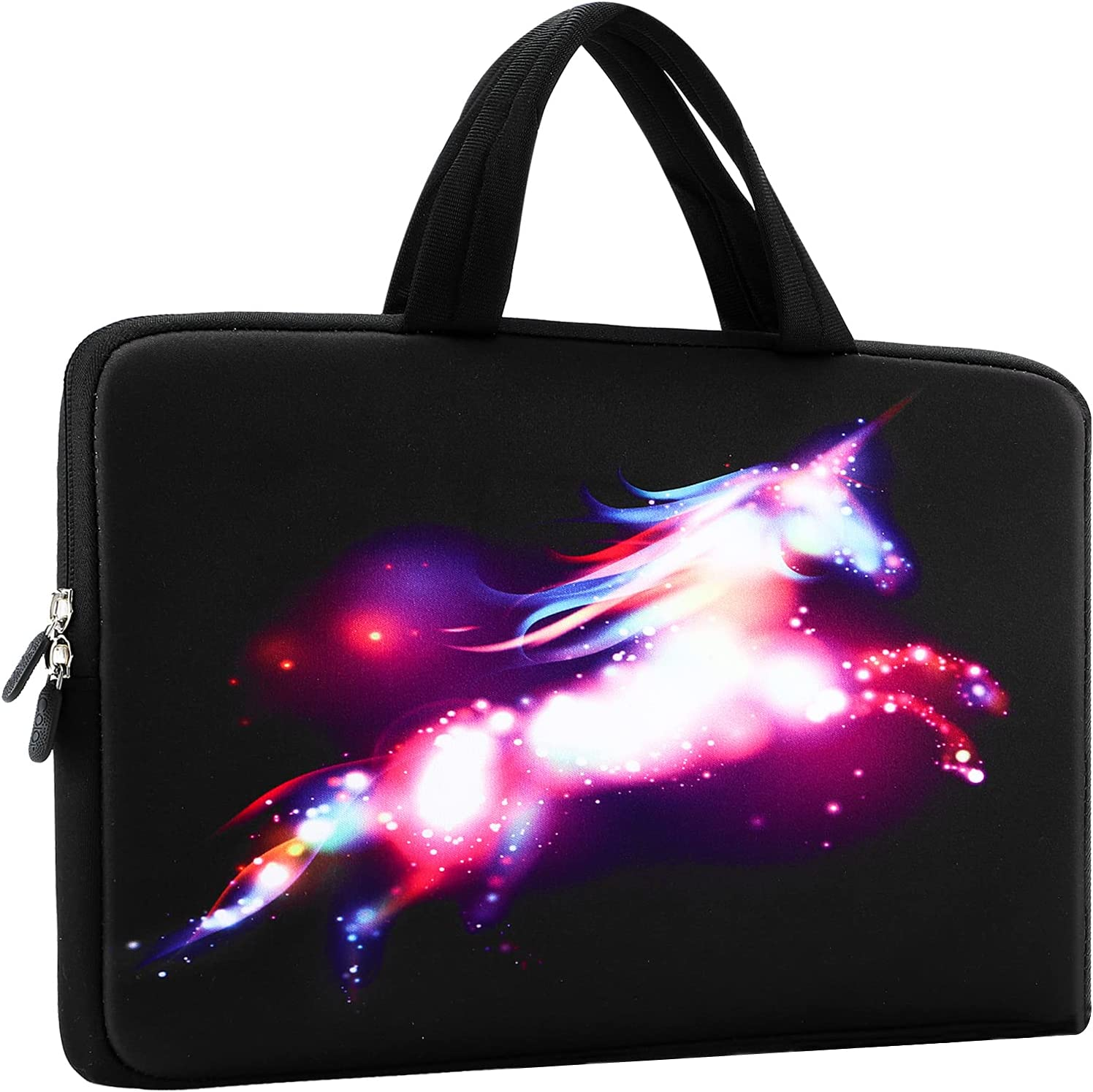 11.6 12 12.1 12.2 Inches Laptop Sleeve Carrying Bag Chromebook Cover Case, Neoprene Netbook/Notebook/Ultrabook Protective Briefcase Pouch Tote Fits Dell HP Google Acer Lenovo Asus