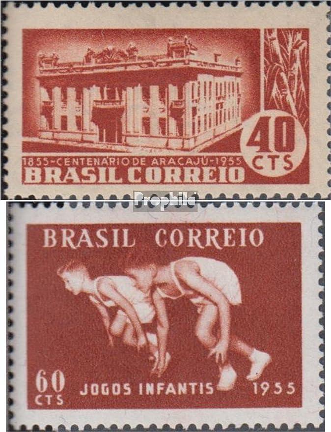 Prophila Collection Brasil Michel.-No..: 876,879 (Completa.edición.) 1955 Aracaju Sergipe, Juegos Deportivos (Sellos para los coleccionistas) Otros Deportes: Amazon.es: Juguetes y juegos
