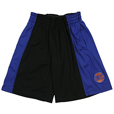 New York Knicks NBA Big Boys Malone Shorts, Black