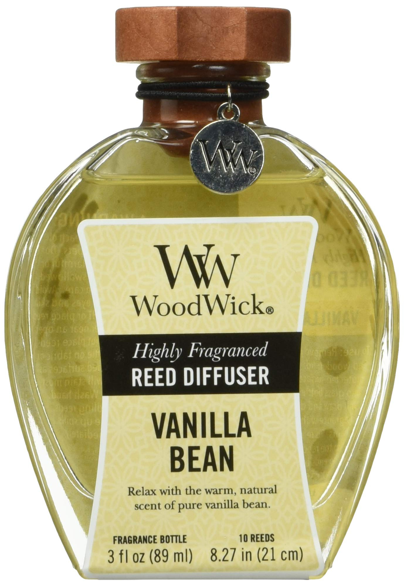 WoodWick Vanilla Bean Reed Diffuser, 3 oz. by WoodWick