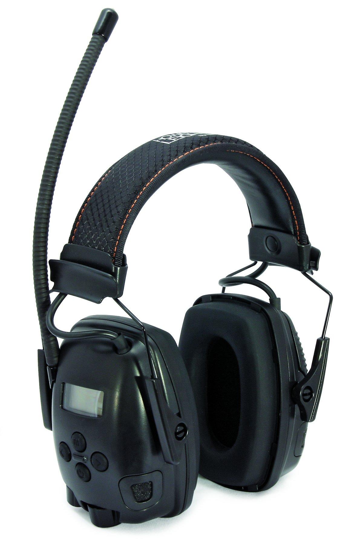 ***BEST PRICE*** Electronic Ear Muff, FM, Black, 25dB