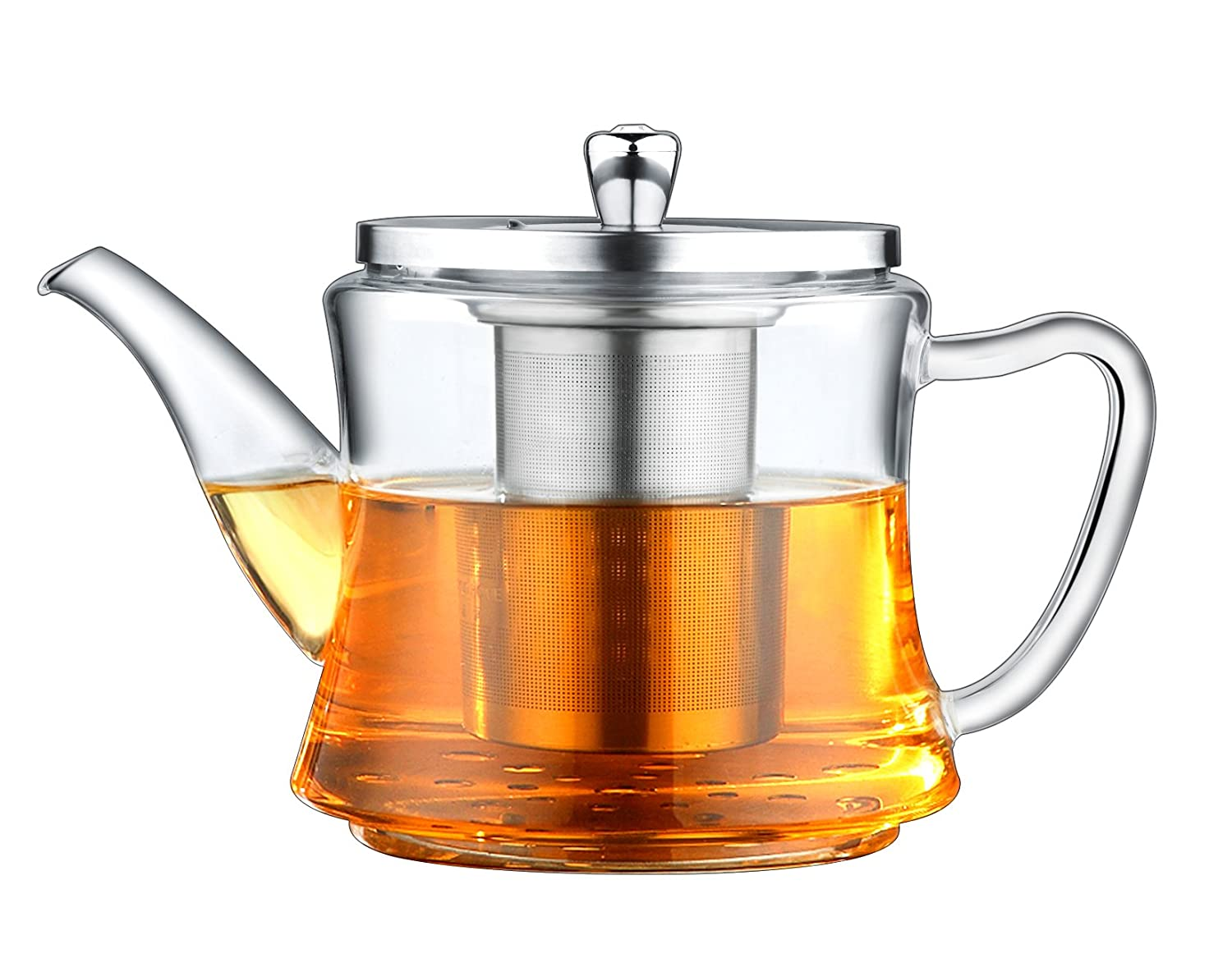 Multifunctional Glass Teapot: For Making Tea and Boiling Tea, Applicable for Electromagnetic Oven, Gas Stove, Electric Ceramic Cooker and Lightwave Oven IAN Co.Ltd. COMINHKPR95171