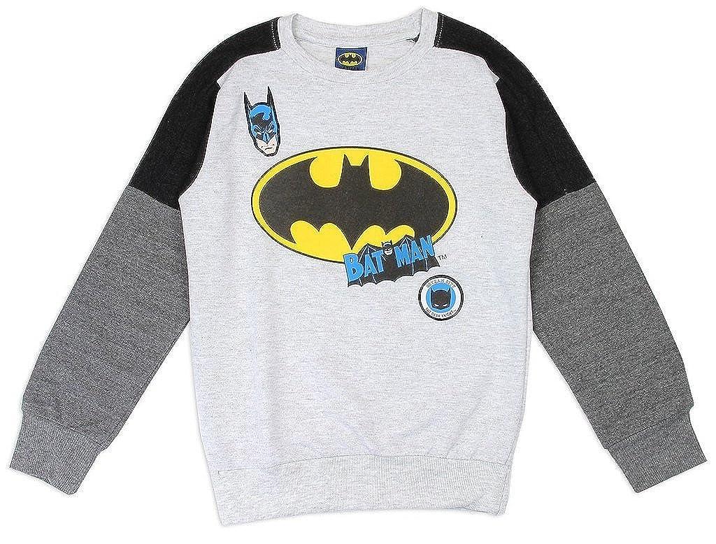 c83023c8 Amazon.com: DC Comics Little Boys' Batman Lightweight Long Sleeve Top (6):  Clothing