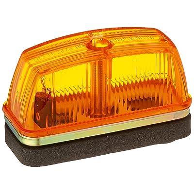 Grote 46333 Yellow School Bus Rectangular Marker Light: Automotive