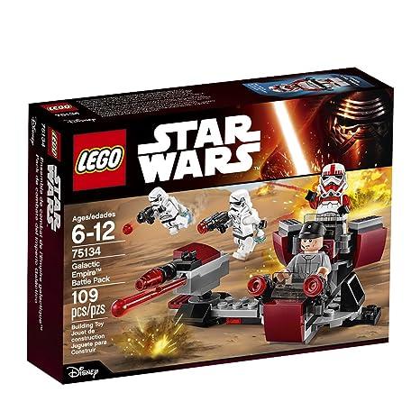 Amazon.com: LEGO Star Wars Galactic Empire Battle Pack 75134: Toys ...
