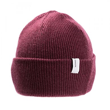 Samsoe   Samsoe The Mens Beanie 2280 One Size Windsor Wine  Amazon ... dd332bc9235