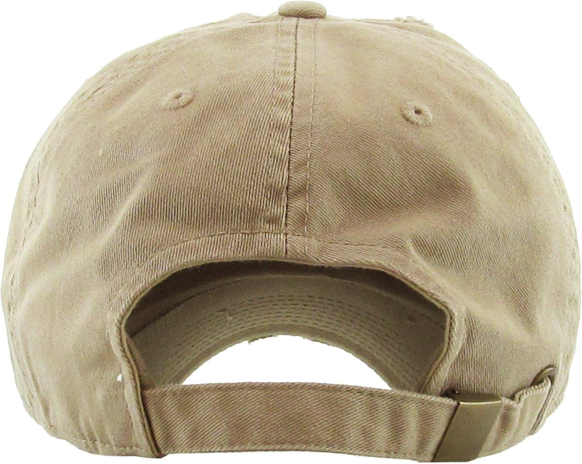 4569998dc5f KBETHOS KBSV-055 KHK Trust No1 Vintage Distressed Dad Hat Baseball Cap Polo  Style   Shops   Clothing