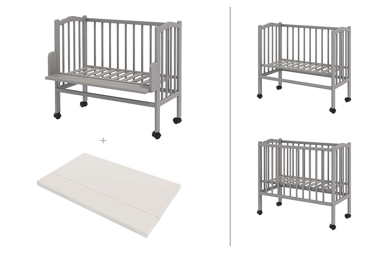 ComfortBaby /® Beistellbett Plus Grau