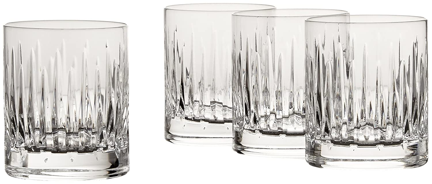 Reed & Barton Crystal Set of Double Old Fashions, Set of 4 2989-4282
