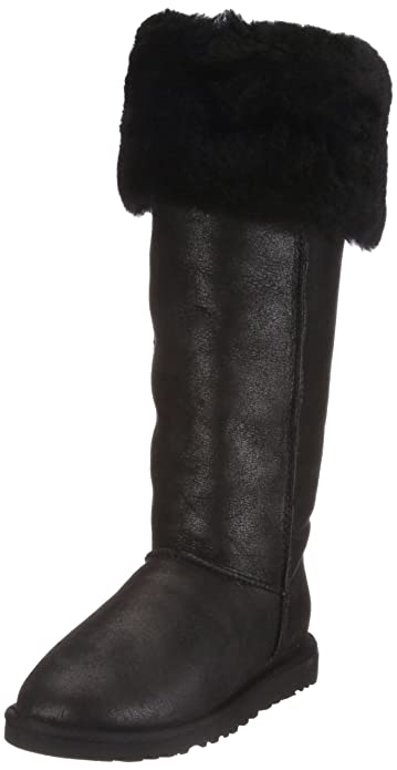 2bcb3044315 Amazon.com | UGG Australia Women's Over The Knee Bailey Button Boots ...