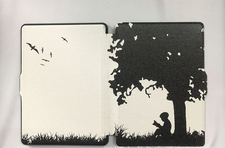 JIA Estuche de Cuero Kindle Kindle Paperwhite eBook Slim Dormant ...