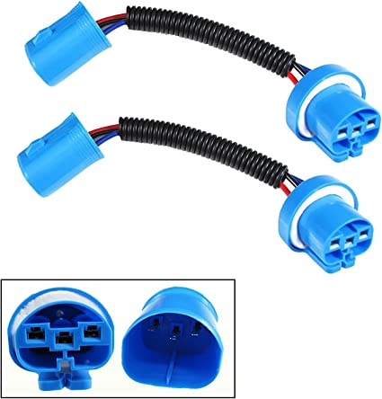 9004 9007 HB5 Extension Wiring Harness Sockets Wire Headlights Fog  Headlight Wiring Harness Upgrade on 9007 headlight plug, 9007 headlight bulbs, 9007 headlight housing,