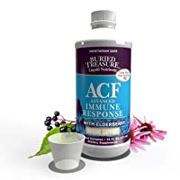 Buried Treasure ACF Advanced Immune Response with 1,000 mg Vitamin C, Elderberry...