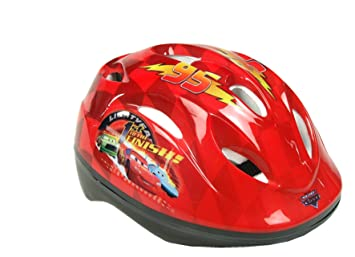 Cars Pixar^Disney Casco, Color Rojo, 35.8 x 18.5 x 9.9 (Mattel