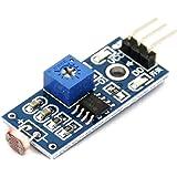 Invento INVNT_10 Lm393 Optical Photosensitive Ldr Light Sensor Module for Arduino Shield DC 3 5V