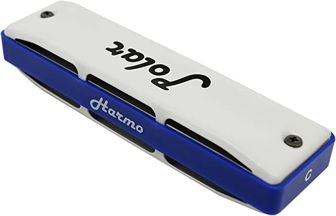 Diatonic harmonica HARMO POLAR key of D Paddy Richter Bluegrass and Celtic music Harmonica for Irish