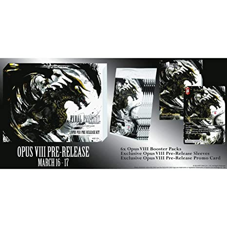 VIII : Pre-Release Kit New Sealed Product Final Fantasy 1x  Opus 8