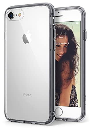 new product fb0a6 79634 Amazon.com: Ringke Fusion Compatible with Apple iPhone 7, iPhone 8 ...