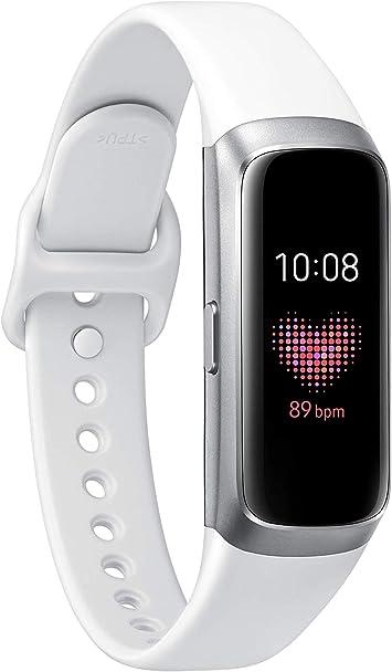 Samsung Galaxy Fit - Smartwatch, color Plata/Negro: Amazon.es ...