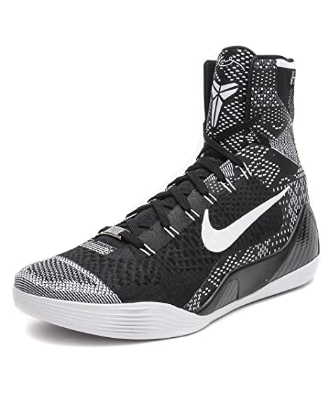 5e88c4a34ff4 Nike Kobe 9 Elite BHM - Black White - 704304-010 (11)  Amazon.ca  Shoes    Handbags