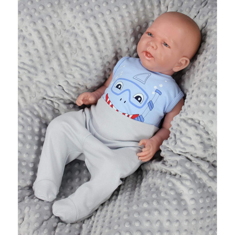 TupTam Baby Jungen Achselbody mit Aufdruck 3er Pack