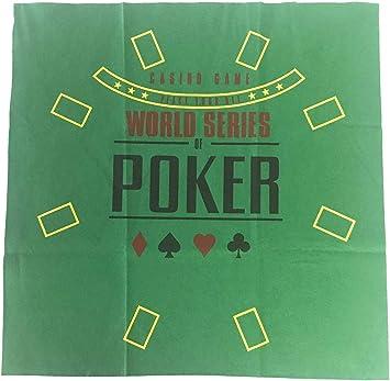 Pokerproductos Tapete Poker WSOP: Amazon.es: Juguetes y juegos