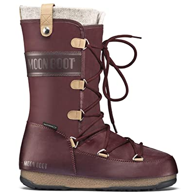 46184147355c Womens Tecnica Moon Boot WE Monaco Felt WP Winter Thermal Durable Boots   Amazon.co.uk  Shoes   Bags