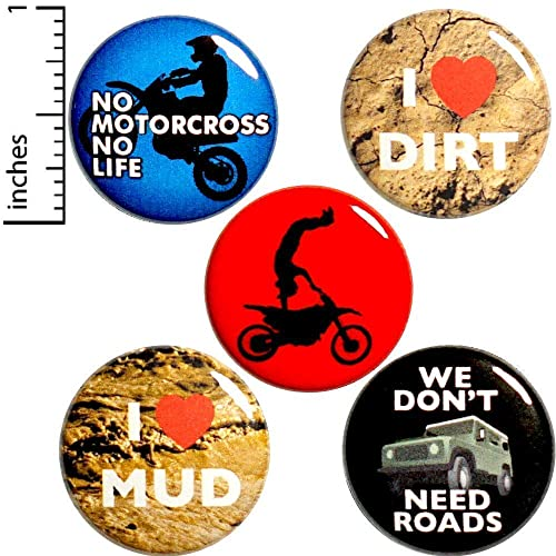 Amazon com: Off-Road 5 Pack Buttons for Backpacks Pins or