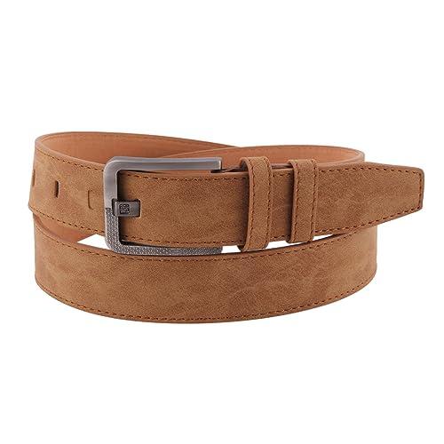 Damara Moda Cinturones Fino Con Hebilla De Metal Para Mujer