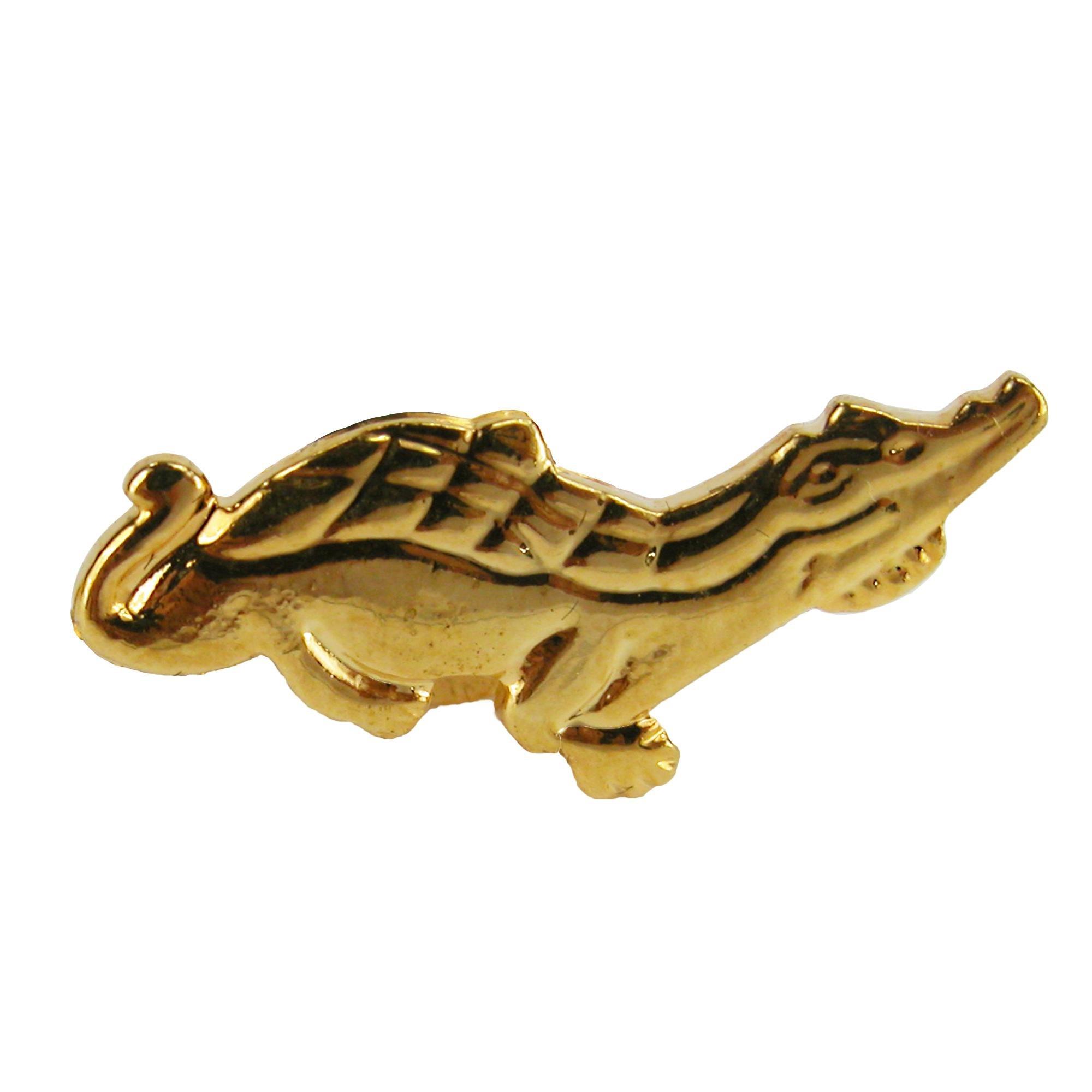 Cuffs New York Men's Alligator Tie Tac, Gold