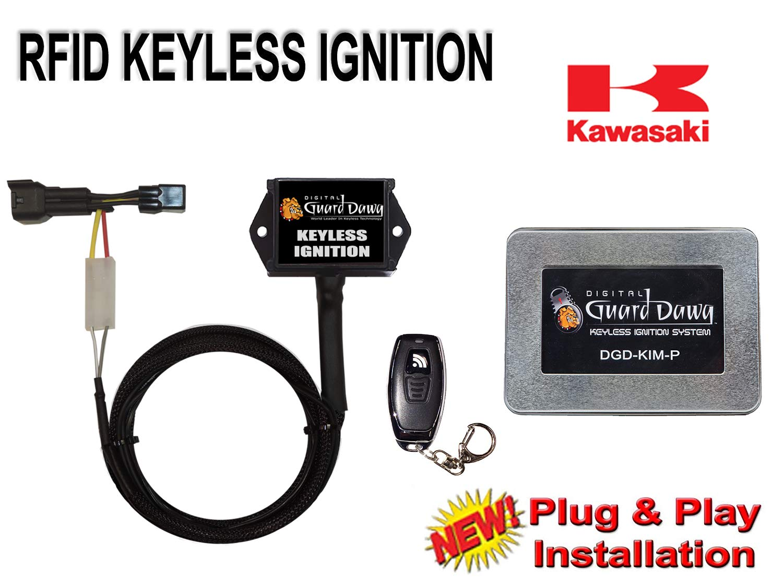 Keyless Ignition for Kawasaki-ZX10R 2011-2015