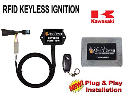 Amazon.com: Keyless Ignition Module for 2013-2017 Kawasaki ... on