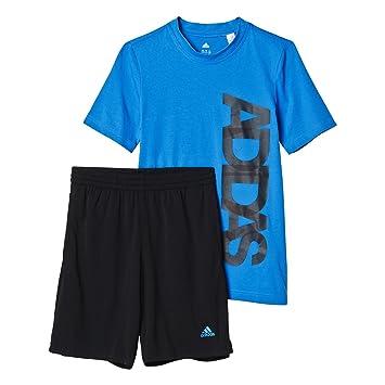 c4c79c2a7 Adidas YB TS Sum Set - Conjunto para niño  Amazon.es  Zapatos y complementos