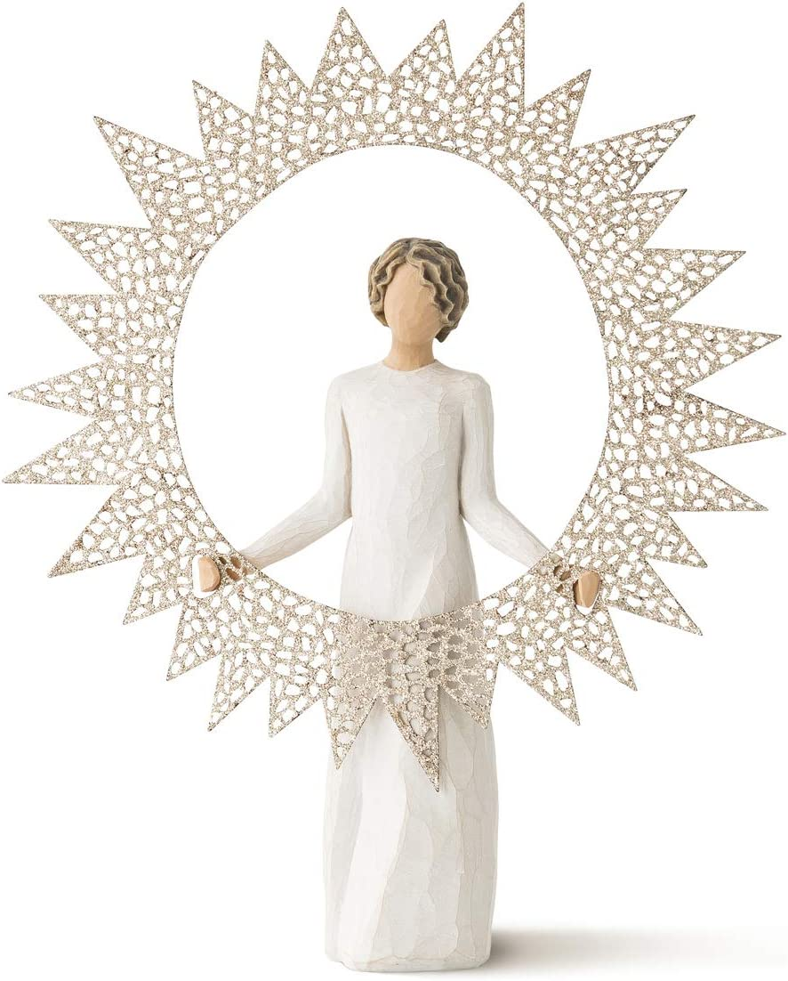 Willow Tree Starlight Tree Topper, Sculpted Hand-Painted Figure