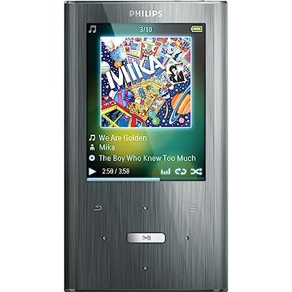 amazon com philips gogear ariaz 8 gb mp3 player silver home rh amazon com GoGear Vibe 4GB Charger Philips GoGear Aria 16GB Manual