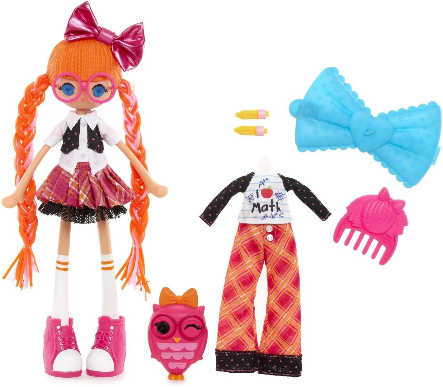 Amazon Com Lalaloopsy Girls Bea Spells A Lot Doll Toys Games