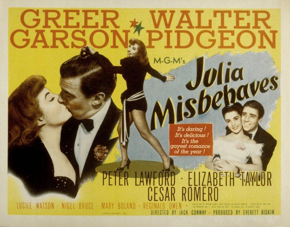 Amazon.com: Posterazzi Julia Misbehaves Greer Garson Walter ...