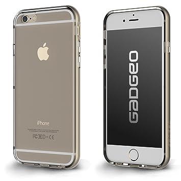 La Carcasa Transparente para iPhone 6 con Bumper Potector | Carcasa para iPhone 6 de Dos Piezas Delgadas Policarbonato y TPU de Silicona Transparente ...