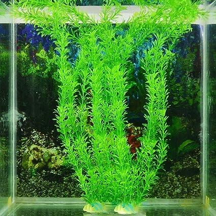 WINNERUS 1 UNID Decoración Para El Hogar Plástico Elegante No tóxico 30 cm Planta Submarina Hierba