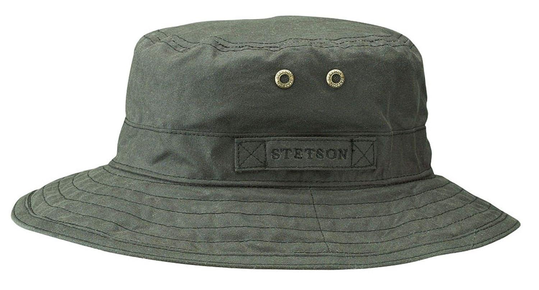 Stetson Atkins Wasserdicht gewachste Baumwolle Hat